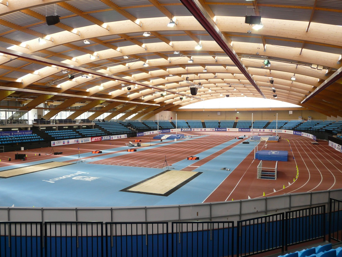 Hallen-Leichtathletik -Europameisterschaften der Senioren in Madrid statt.